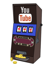 YouTube machine à sous